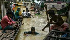 Flooding in West Bengal has displaced a quarter of a million people and killed over two dozen people