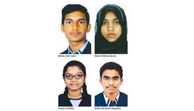 Ideal students excel in class XII exams