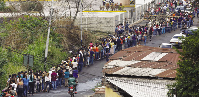 Looting on the rise in Venezuela supermarkets
