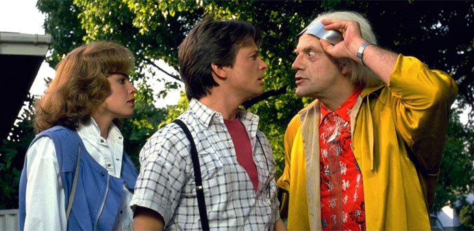 The 'Back to the Future' trilogy will be screened at Aspire Park as part of the 'Cinema Under the St