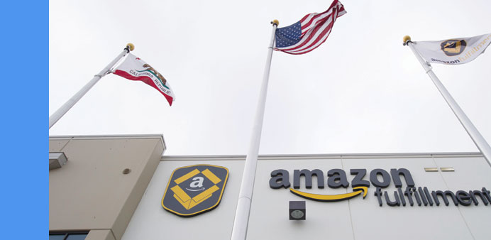 Amazon posts anomalous profit, Wall Street swoons