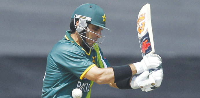 Under pressure Misbah refuses to quit one-dayers