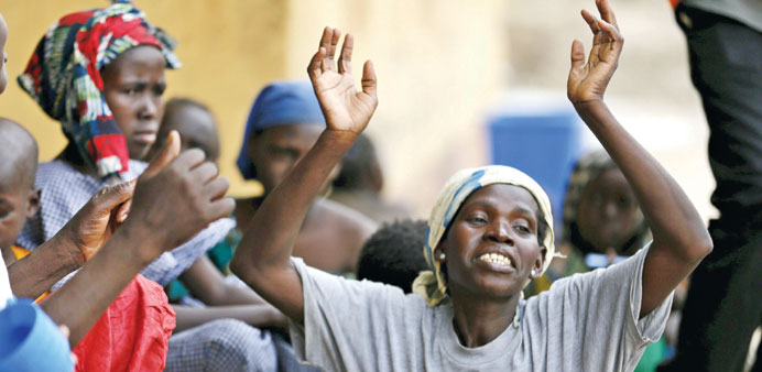 Rescued women recall Boko captivity horrors