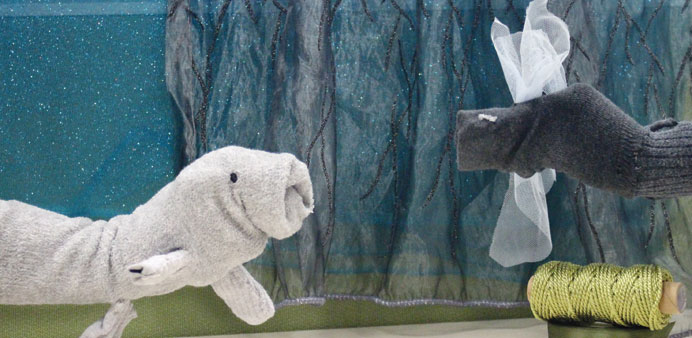 Family workshops to feature puppet-making, storytelling