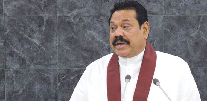 Sri Lanka's new president names brother Mahinda as PM