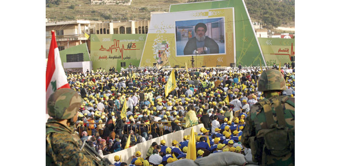 Hezbollah urges backing for anti-IS fight