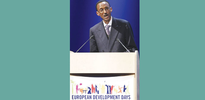 Kagame: will wait and see.