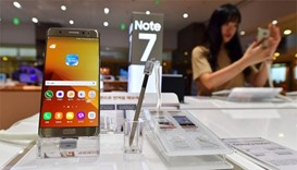 Britain's Royal Mail bans delivery of Galaxy Note 7