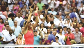 Kerber on top of the world with US Open triumph