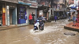 Heavy rain hits Nepal capital
