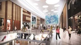 Landmark Group stores' fit-out under way at Mall of Qatar