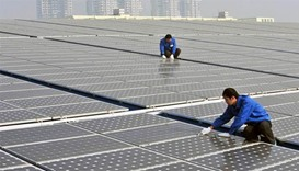 China solar panel glut undermines EU-China accord