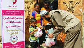 Eid Charity distributes sacrificial meat to needy people in 35 countries