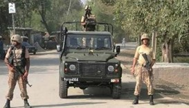 Three Pakistani soldiers killed in Peshawar