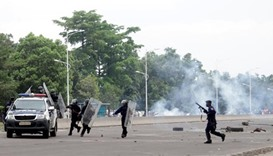 17 killed, including 3 police, in Kinshasa clashes