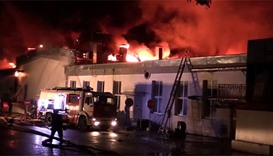 Eight Russian firefighters killed in Moscow blaze