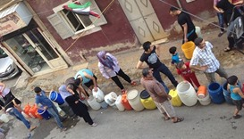 Two million people without water in Syria's Aleppo: UN