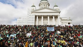 15,000 march in Helsinki anti-racism protest