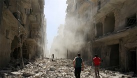 Warplanes pound Aleppo, UN security council to meet