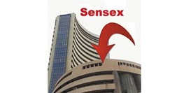 Sensex drops for 3rd day; rupee hits 2-week high