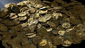 Roman coins unearthed in Japan