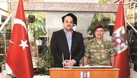 Al-Attiyah visits Turkish Special Forces HQ