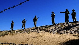 Firing continues across frontier with Pakistan: India