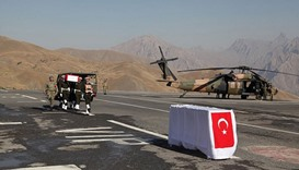 Turkish forces