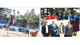 Qatar retain Arab Beach Volleyball title
