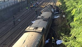 At least 4 dead as train derails in Spain