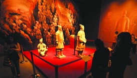 Terracotta Army enthralls many at Museum of Islamic Art