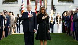 White House observes minute of silence for 9/11 victims