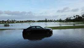 Tropical Storm Irma floods cities in northern Florida
