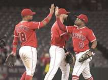 Angels make quick work of Houston Astros in 9-1 victory