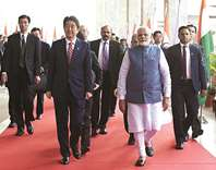 Japan, India agree to deepen defence ties