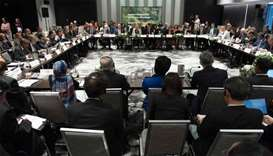 30 environment ministers aiming to push forward on the Paris climate accord