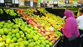 In August, food and beverage prices in Qatar rose 2.8% only from a year ago and fell back 0.6% from