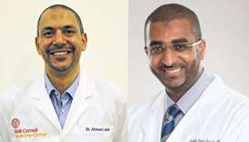 Dr Ahmed Labib and Dr Ibrahim Fawzy Hassan