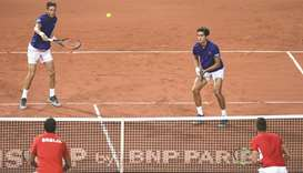 Australia and France on brink of Davis Cup final
