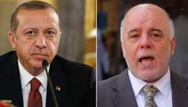 Turkey's Erdogan to discuss northern Iraq vote with Iraqi PM