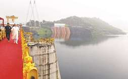 PM opens controversial Narmada dam project