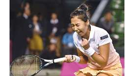 Diyas storms to first title in Japan