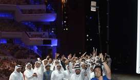 New world record for longest selfie stick created in Qatar