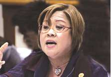 Asean lawmakers blocked from visiting De Lima in jail