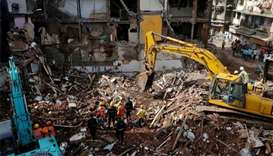 Mumbai building collapse death toll jumps to 34