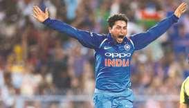 Kuldeep thanks Dhoni for pepping him up before the hat-trick ball
