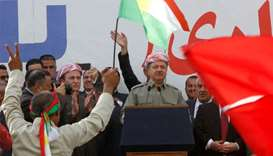 Iraq Kurd leader delays independence vote announcement