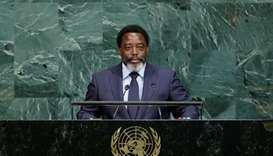 Joseph Kabila Kabange, President of the Democratic Republic of the Congo addresses the 72nd United N