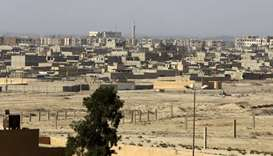 A general view of the eastern Syrian city of Deir Ezzor on September 20, 2017