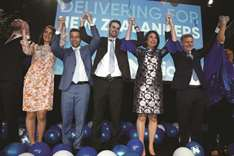 New Zealand's ruling Nationals win most votes, NZ First Party kingmaker